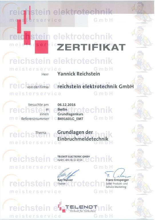 reichstein elektrotechnik GmbH - Sonstiges